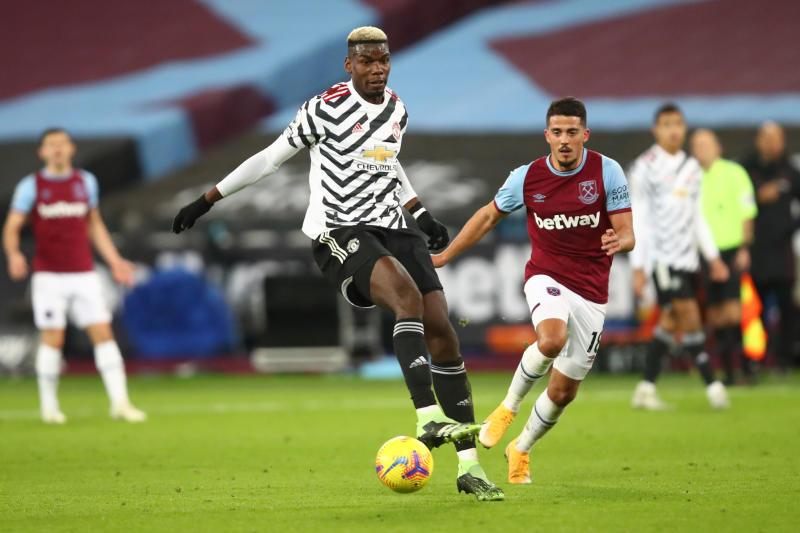 Pogba chỉ ghi ba bàn trong 35 trận gần nhất cho Man Utd. Ảnh: Reuters.