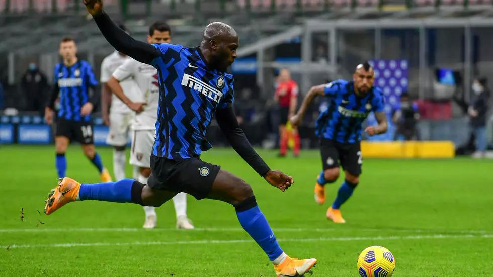 Lukaku đã ghi 12 bàn trong 13 trận trên mọi đấu trường cho Inter mùa này. Ảnh: AFP.