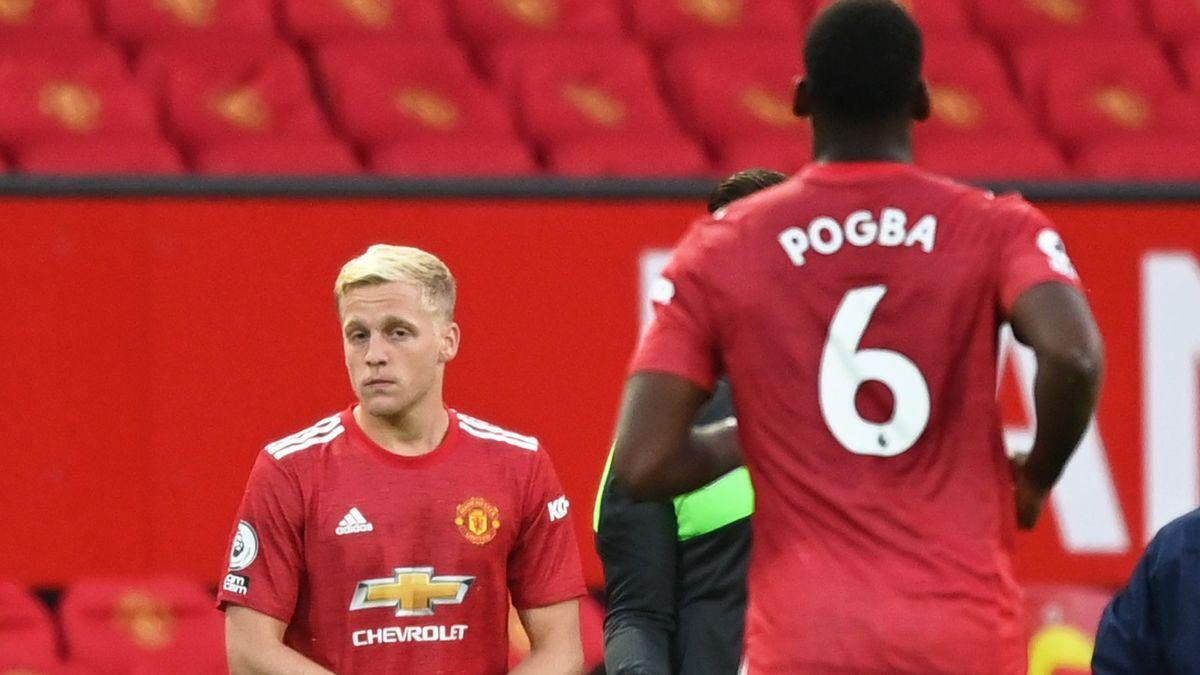 Van de Beek ยังไม่มีการเตะหลักแม้ว่าเขาจะคาดว่าจะแข็งแกร่งมากเมื่อเขามาที่ Man Utd  ภาพ: Reuters