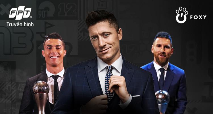 Lễ trao giải The Best FIFA Football Awards 2020 diễn ra lúc 1h ngày 18/12, trực tiếp trên Truyền hình FPT và ứng dụng Foxy.