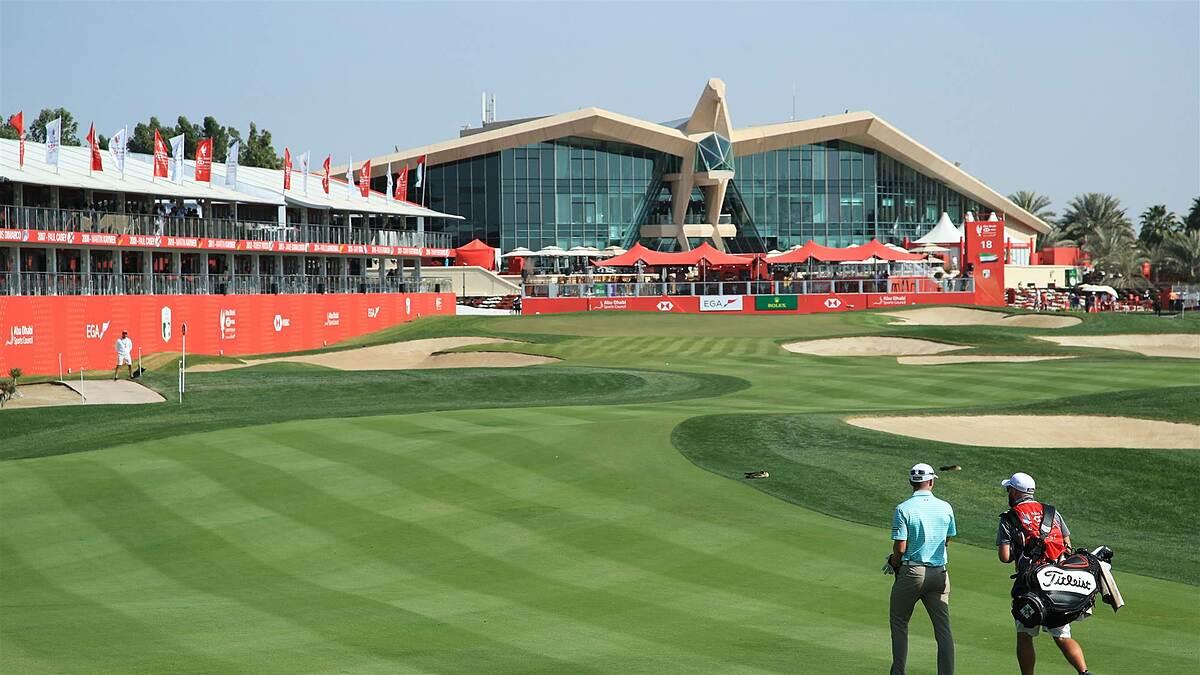 The Abu Dhabi Golf Club Complex will be where the European Tour 2021 kicks off with the Abu Dhabi HSBC Championship.  Photo: Golf Australia