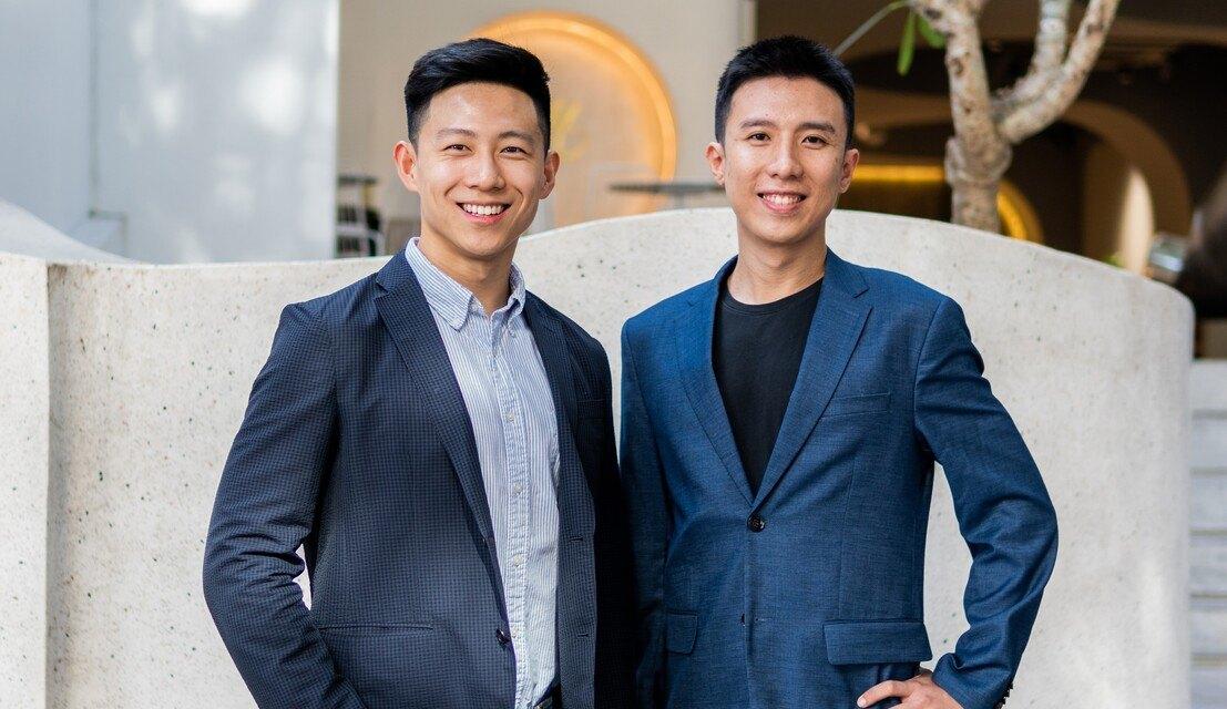 Đồng sáng lập Phillip An (trái) và JunYuan Tan. Ảnh: Tech In Asia.