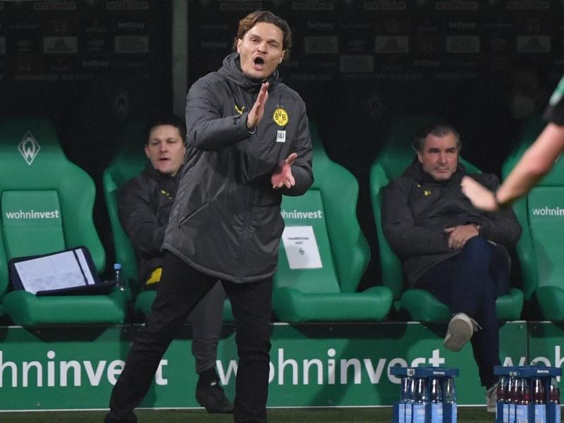 Terzic khởi đầu thuận lợi trong vai trò HLV tạm quyền. Ông sẽ chỉ đạo Dortmund tới hết mùa này trước khi CLB tìm một HLV phù hợp. Ảnh: imago