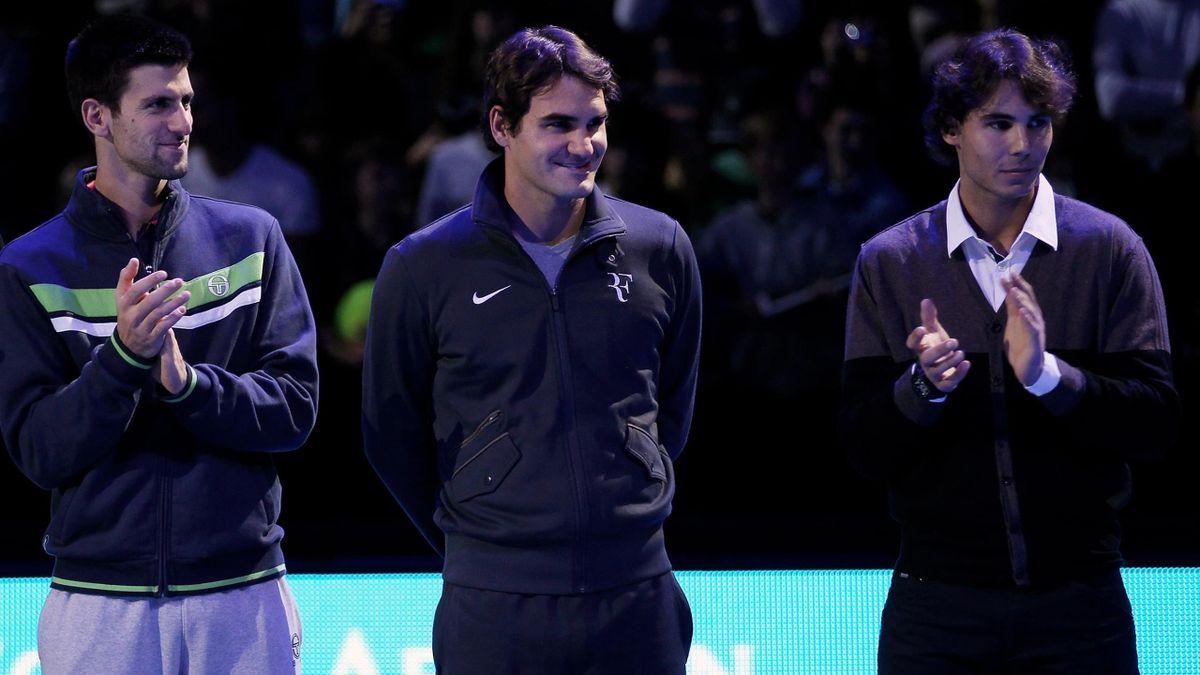 Bộ ba Djokovic, Federer và Nadal đã giành tổng cộng 15 danh hiệu Australia Mở rộng. Ảnh: Eurosport.