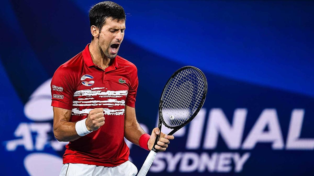 Djokovic thắng 38 trận chung kết, thua 14 trong 300 tuần giữ vị trí số một ATP. Ảnh: ATP.