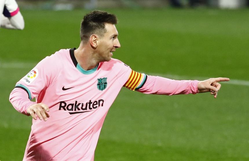 Messi giúp Barca thắng trận thứ bảy từ đầu mùa. Ảnh: Marca.
