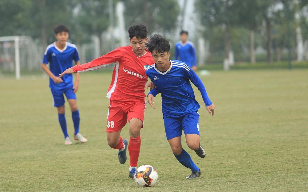 Viettel ชนะในรอบแบ่งกลุ่มของ U15 National Cup