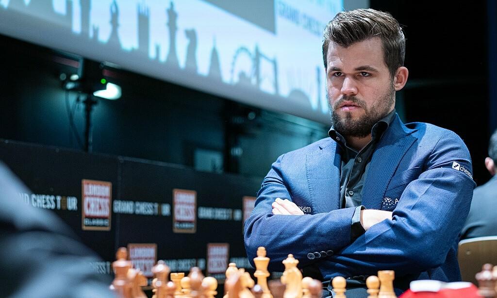 Carlsen tại London Chess Classic 2019. Ảnh: Lennart Ootes