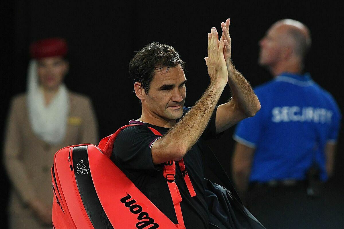 Lần đầu trong sự nghiệp, Federer vắng mặt ở ba Grand Slam liên tiếp. Ảnh: AP.