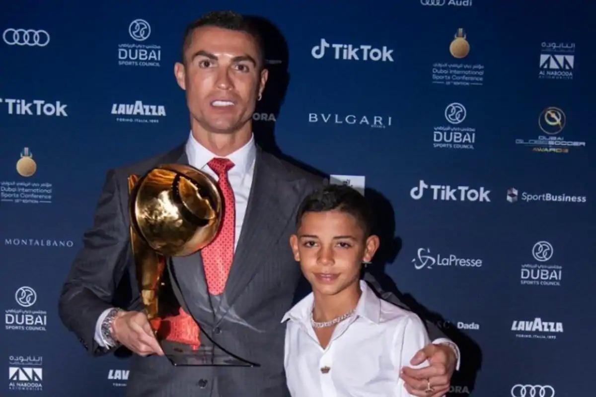 Ronaldo cho con trai vào học viện đào tạo trẻ của Juventus từ năm 2018. Ảnh: Indiatimes.