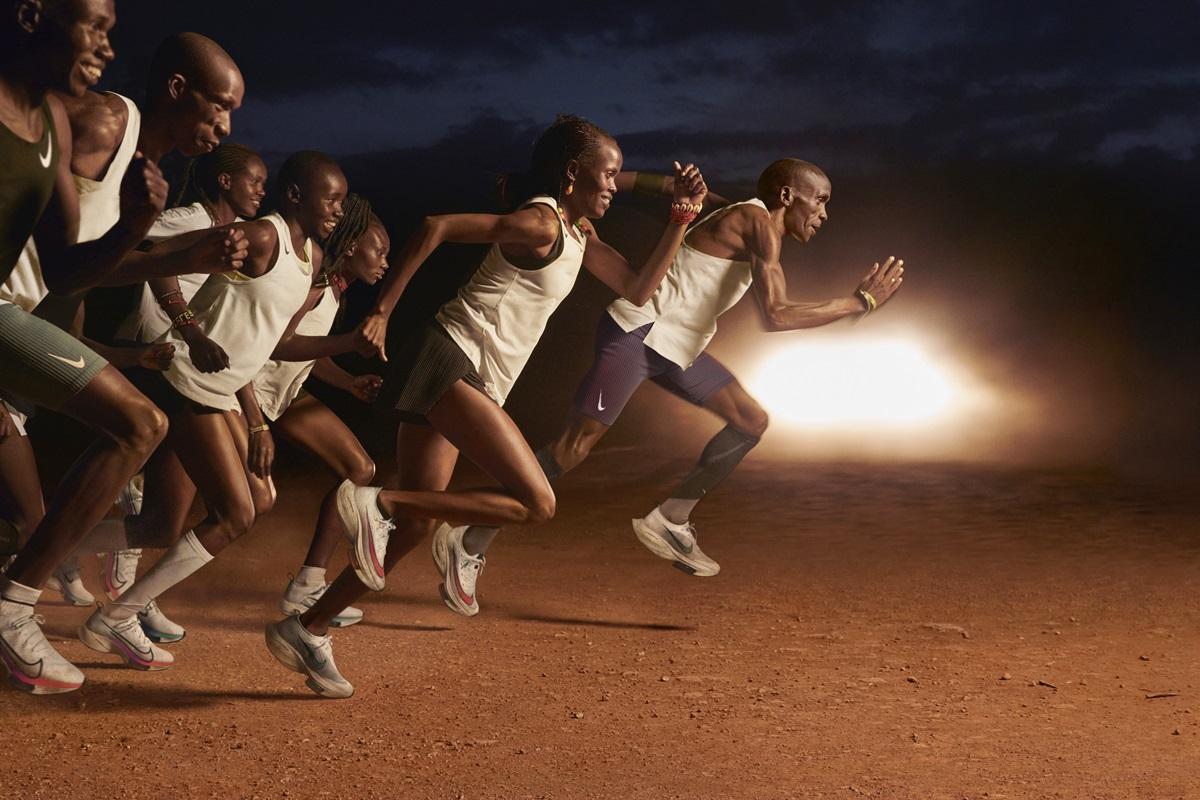 Tập luyện và chinh phục đường đua là niềm đam mê của những chân chạy.