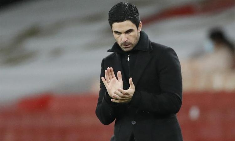 Arteta xem trận thắng Brighton có ý nghĩa quan trọng với chặng đường phía trước của Arsenal. Ảnh: Reuters.