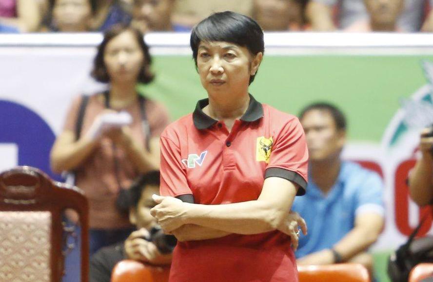 Bà Lương Nguyễn Ngọc Hiền đảm nhận vai trong HLV trưởng đội nữ Long An từ năm 2021. Ảnh: Thanh Lâm.