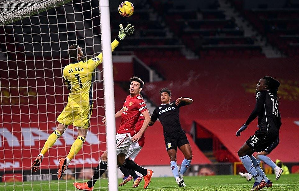 De Gea chơi xuất sắc tối 1/1, và có 4 pha cứu thua cho Man Utd. Ảnh: PA.