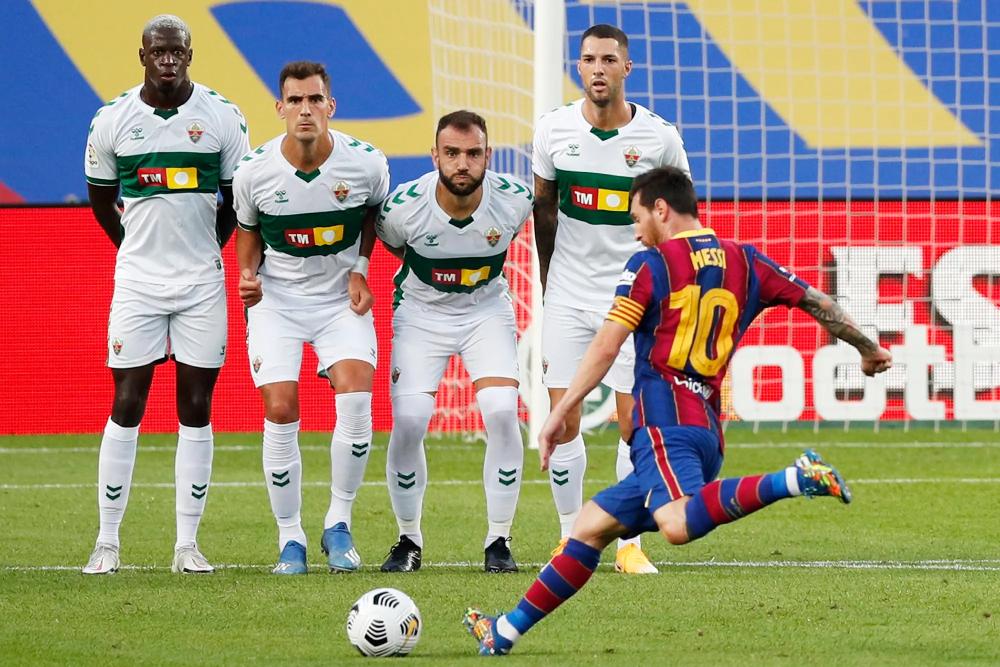 Seorang pemain seperti Messi selalu membutuhkan tim yang layak secara finansial dan sangat bersinar, sesuatu yang Barca dengan posisi keenam La Liga saat ini tidak dapat memenuhi.  Foto: Reuters.