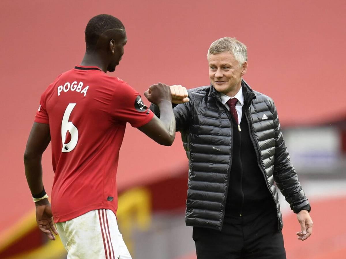 Pogba tìm lại phong độ đỉnh cao đúng giai đoạn khó khăn nhất mùa giải, góp phần giúp Man Utd bay cao. Ảnh: Reuters
