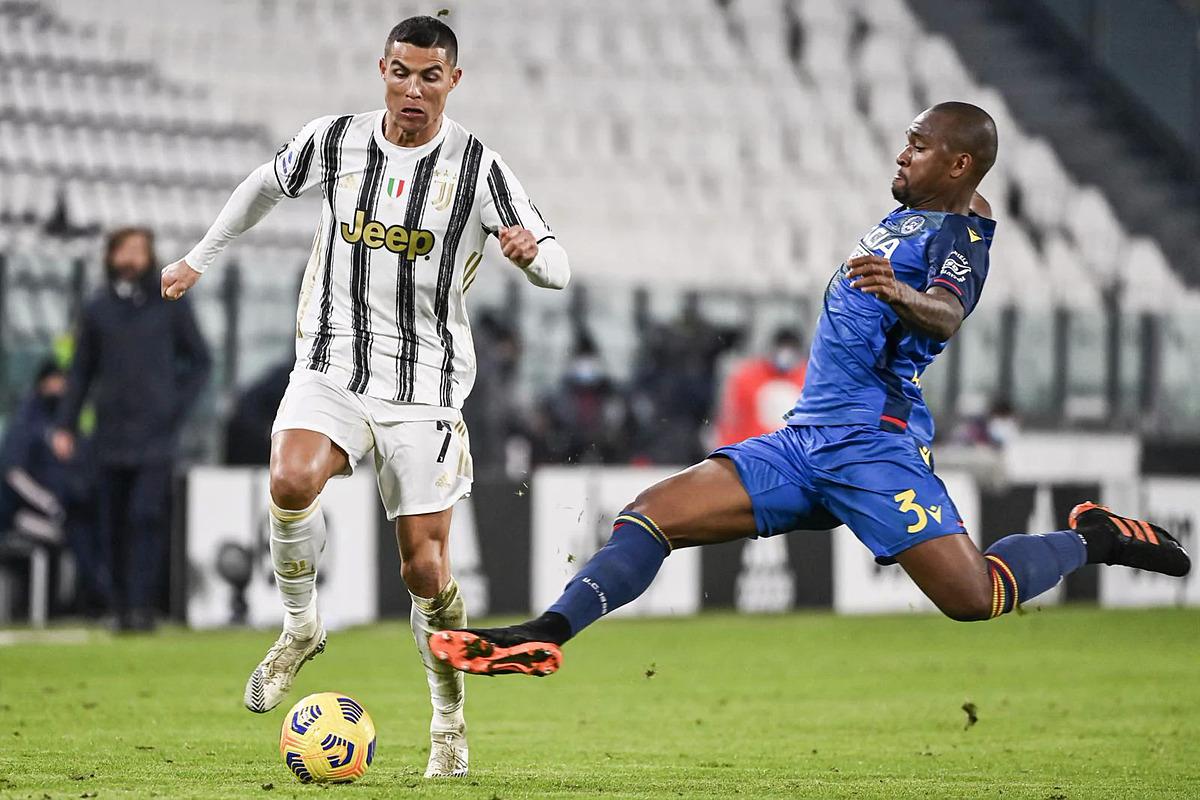 Juventus chỉ thật sự chơi tốt lên sau khi Ronaldo tạo đột biến. Ảnh: Lapresse