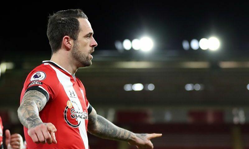 Ings mừng bàn thắng vào lưới đội bóng cũ, giúp Southampton trở thành đội duy nhất trong lịch sử Ngoại hạng Anh thắng cả bảy nhà vô địch ở thời điểm họ đang là đương kim vô địch. Ảnh: Reuters