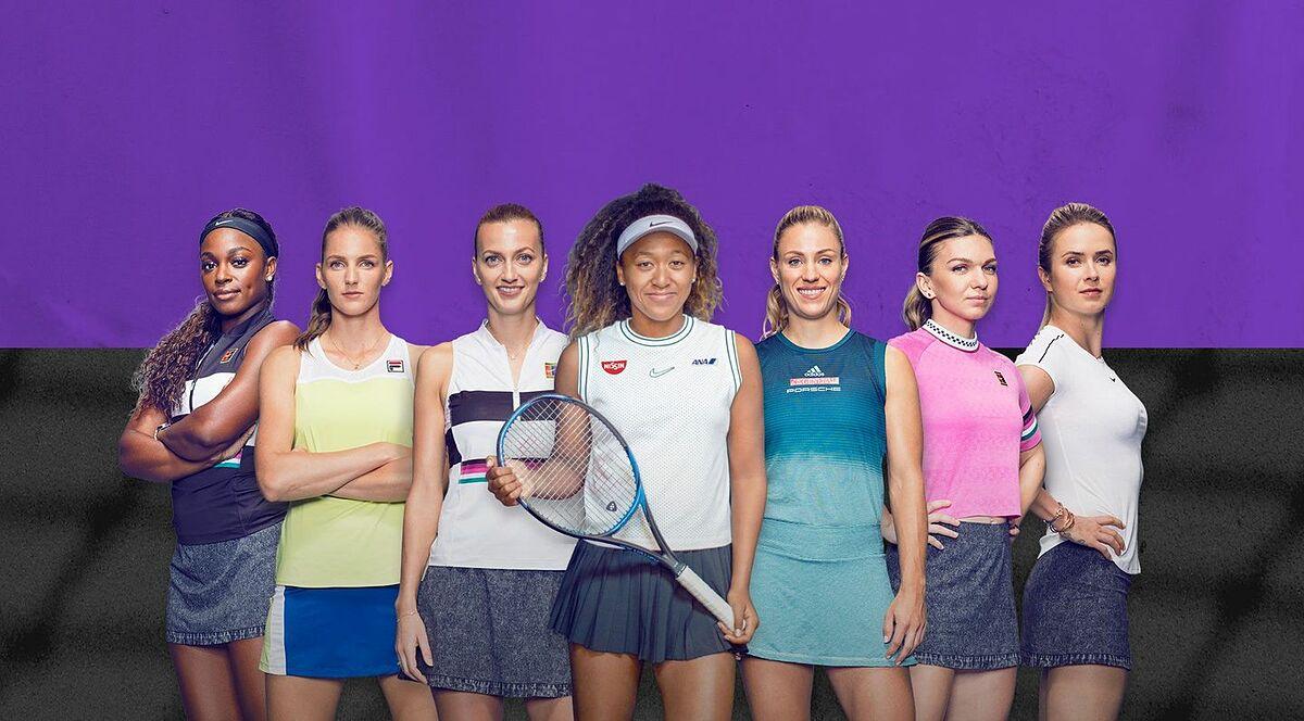 WTA kemungkinan tidak akan mengadakan banyak turnamen besar selama musim 2021 karena Covid-19.  Foto: WTA.