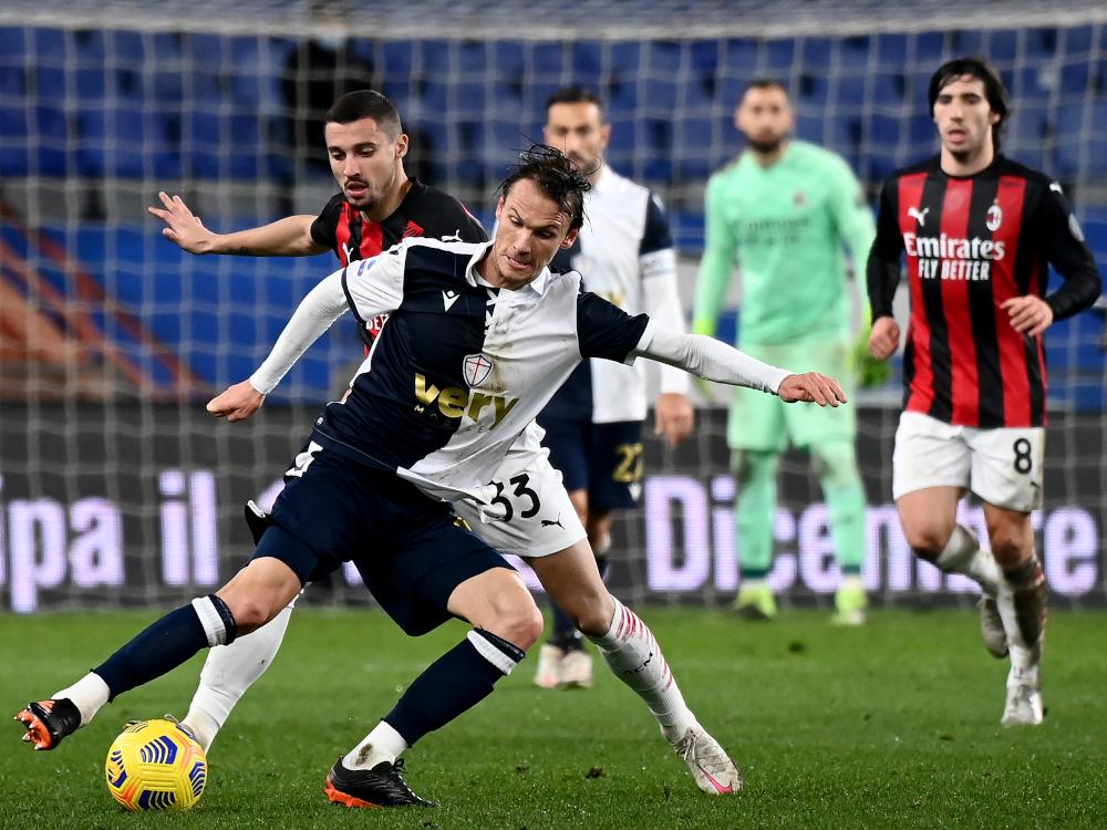 Milan tiến bộ nhất châu Âu năm 2020