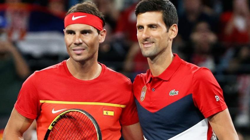 Nadal và Djokovic dự kiến chỉ chơi một giải trước khi Australia Mở rộng khởi tranh ngày 8/2. Ảnh: ATP.