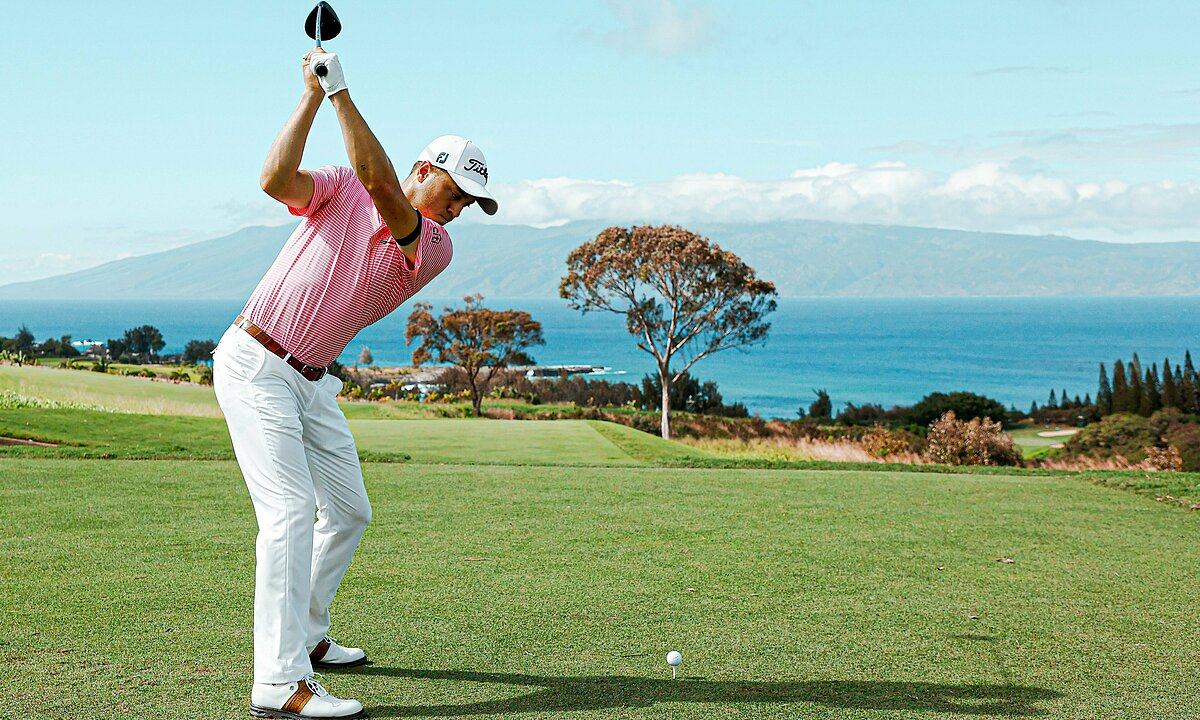 Justin Thomas got off to a good start, with no bogeys on the day of his departure at Sentry.  Photo: SOTC