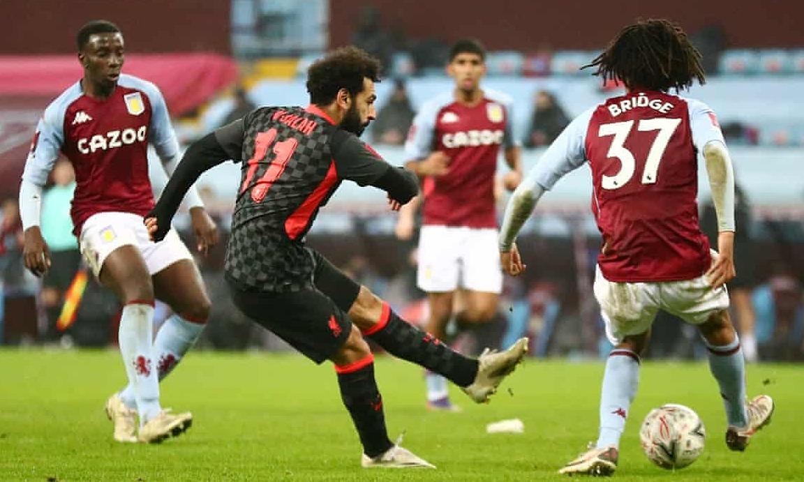 Bàn ấn định tỷ số của Salah (số 11). Ảnh: Reuters