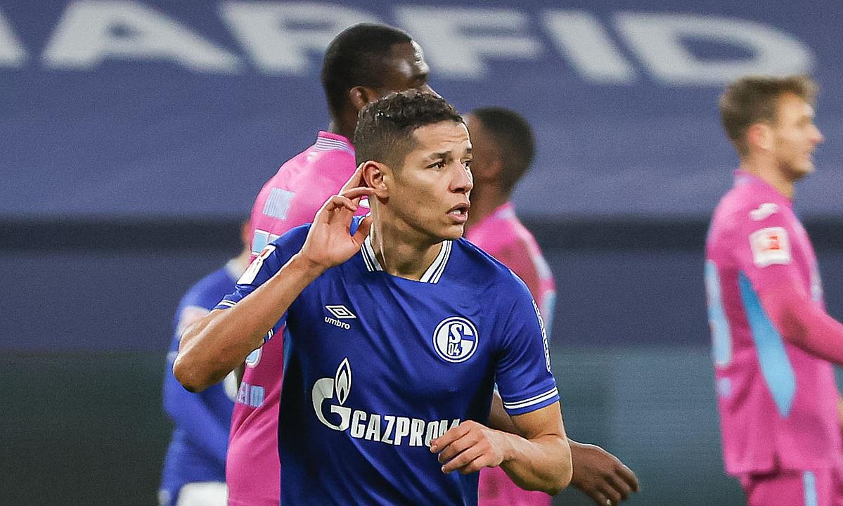 หฤษฎ์ฉลองประตูชัย 4-0 ให้ชาลเก้  ภาพ: Schalke04