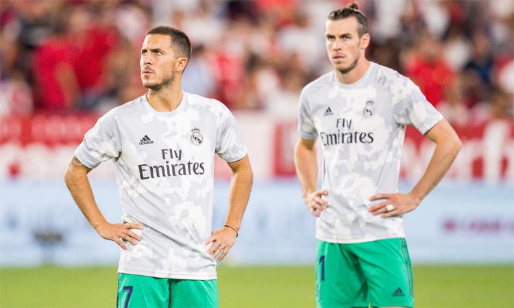 Hazard มีศักยภาพในการเซ็นสัญญาที่น่าผิดหวังมากกว่า Bale ที่ Real  ภาพ: AP.
