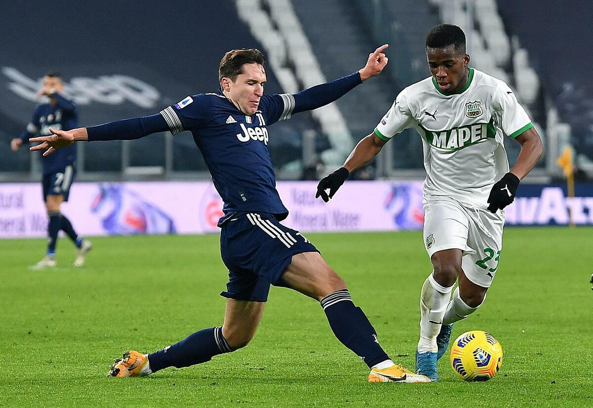 Những cầu thủ khác như Chiesa đang chứng tỏ vai trò quan trọng trong lối chơi của Juventus. Ảnh: Lapresse
