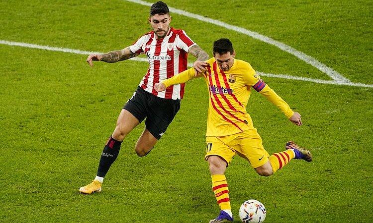Messi là cầu thủ kiến tạo hay nhất trong 10 năm qua. Ảnh: EFE.