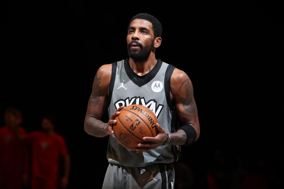 Irving will continue to be investigated by the Nets and the NBA for compliance with safety rules during the pandemic.  Photo: BR.