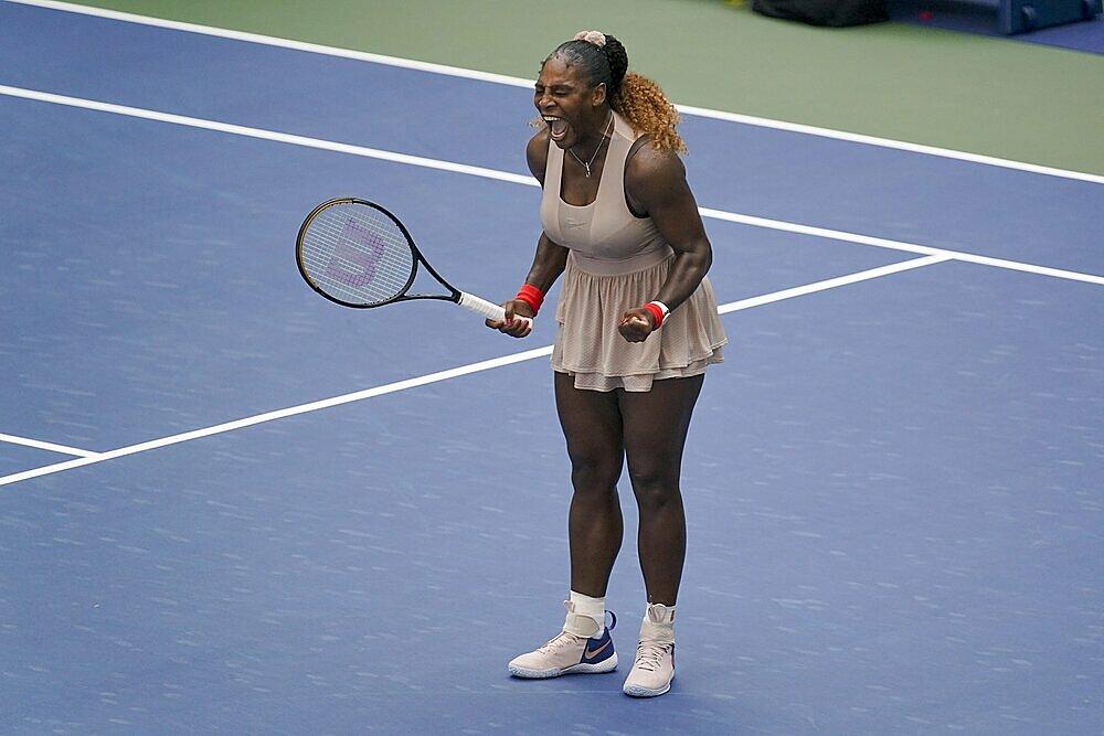 Serena không giành Grand Slam trong gần bốn năm qua. Ảnh: AP.