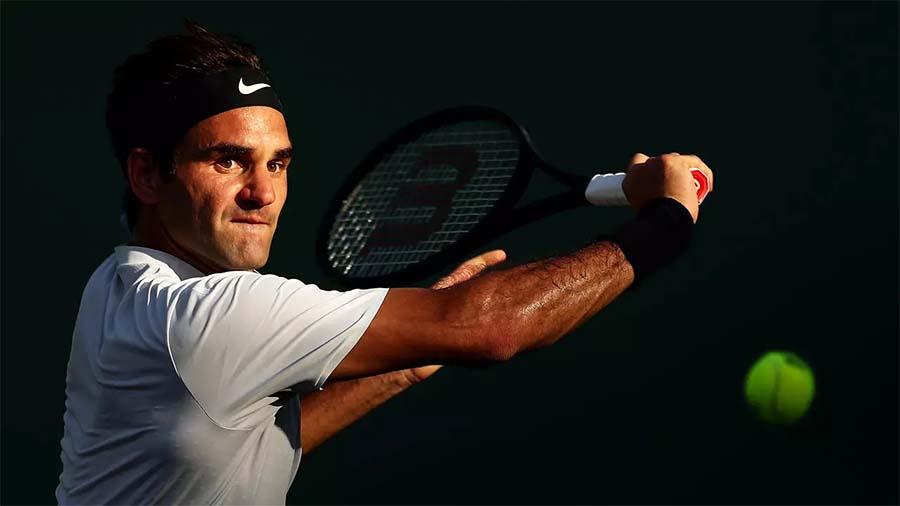 Federer nghỉ thi đấu trong gần một năm qua. Ảnh: AP.