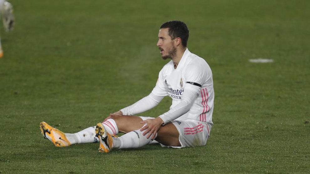 Hazard hưởng lương 18 triệu USD mỗi năm tại Real. Ảnh: AS.