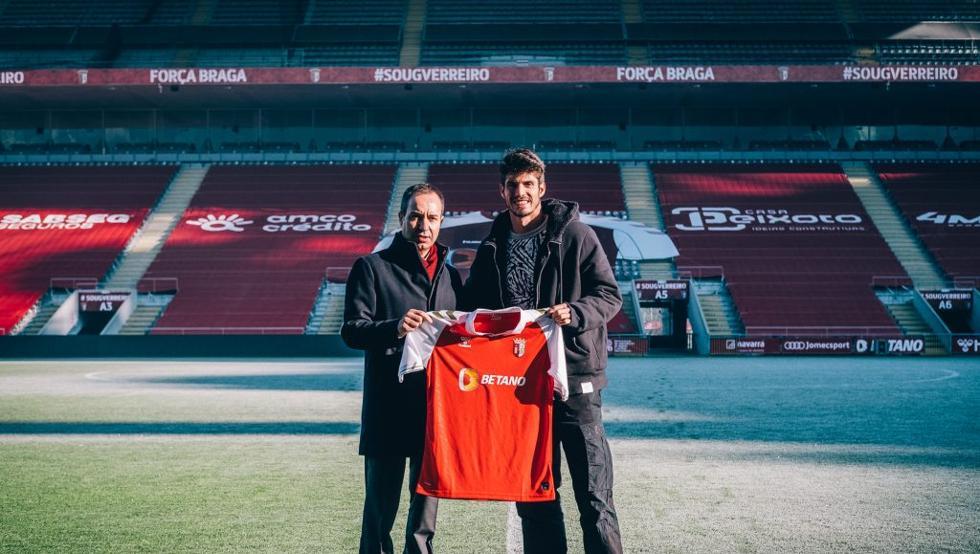 Piazon เซ็นสัญญาจนถึงปี 2025 กับ Braga ซึ่งเป็นทีมที่สี่ในลีกโปรตุเกส  รูปภาพ: เป้าหมาย