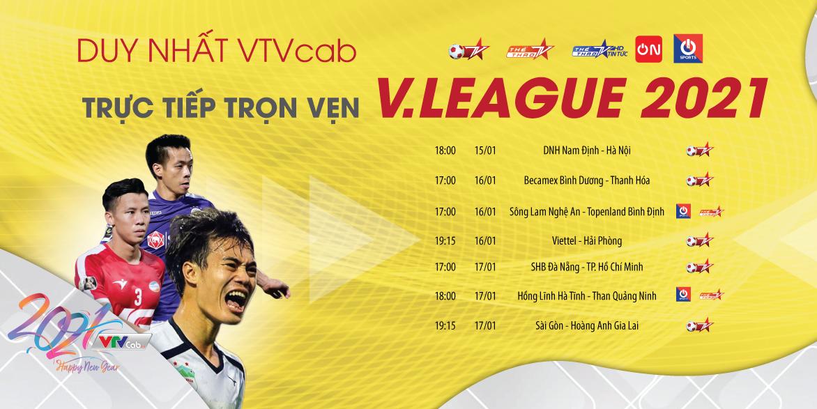 Nam Dinh - Hanoi: Pembukaan V-League 2021 - 6