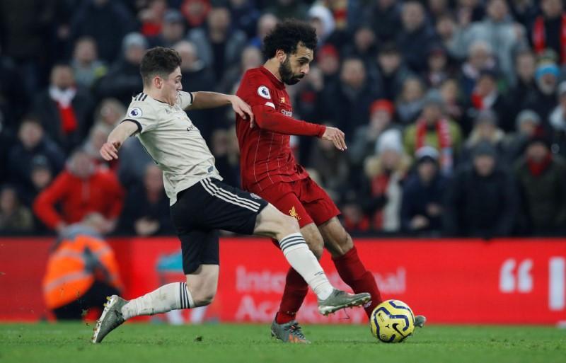Liverpool bất bại trong 4 lần tiếp đón Man Utd gần nhất. Ảnh: Reuters.
