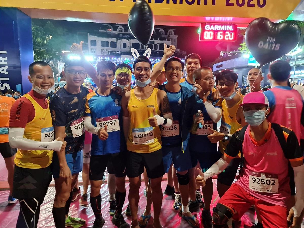 Anggota HRC di Hue VnExpress Marathon pada bulan Desember 2020.
