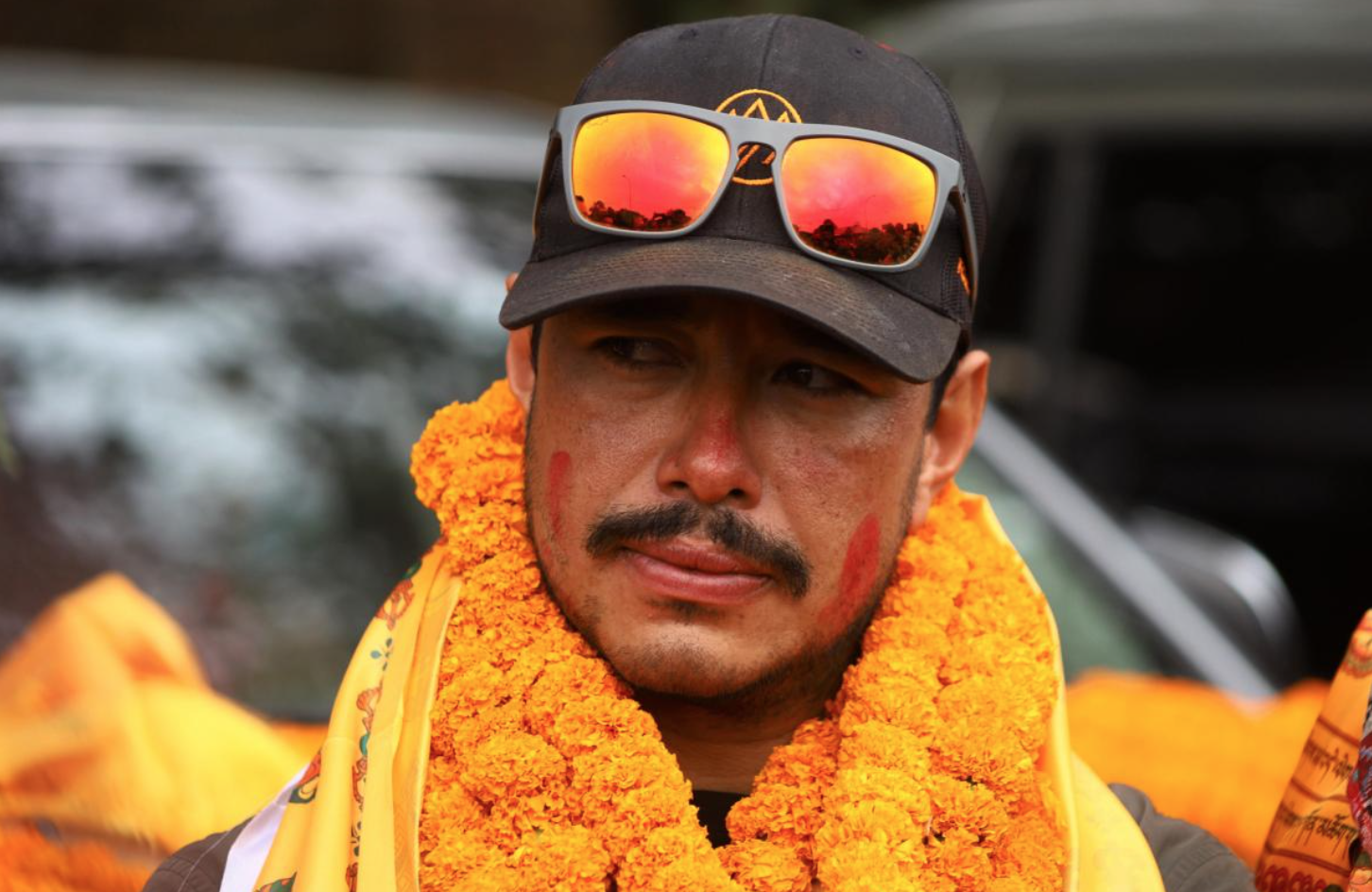 Nirma Purja considers his 10-man climbing group successfully conquering K2 in winter as a pride of Nepal.  Photo: NatGeo