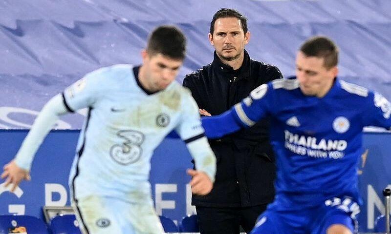 Lampard chỉ đạt tỷ lệ thắng 52% cùng Chelsea. Ảnh: Reuters