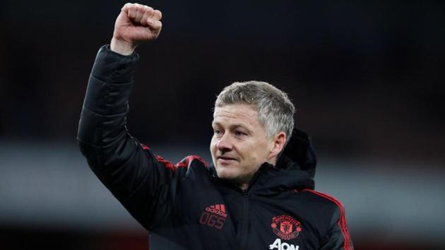 Solskjaer đang đưa Man Utd trở lại vị thế ứng cử viên vô địch. Ảnh: Reuters.