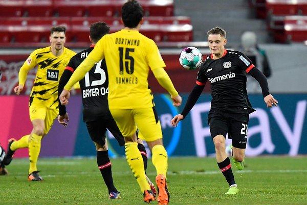 Wirtz mencetak tiga gol, membantu empat di Bundesliga meski baru berusia 17 tahun.  Foto: AP