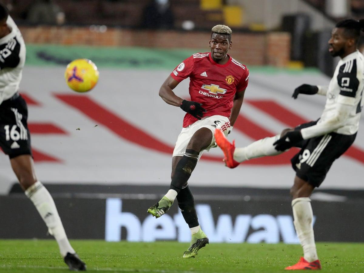 Tiga gol Pogba untuk Man Utd di Liga Premier musim ini semuanya timpang.  Foto: Guardian.