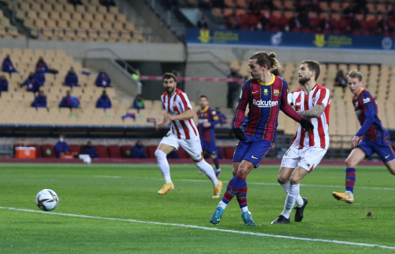 Griezmann ต้องการเป็นผู้นำของ Barca แต่เขาไม่มีบทบาทเพียงพอในทีมที่จะรับหน้าที่นั้น  ภาพ: El Pais