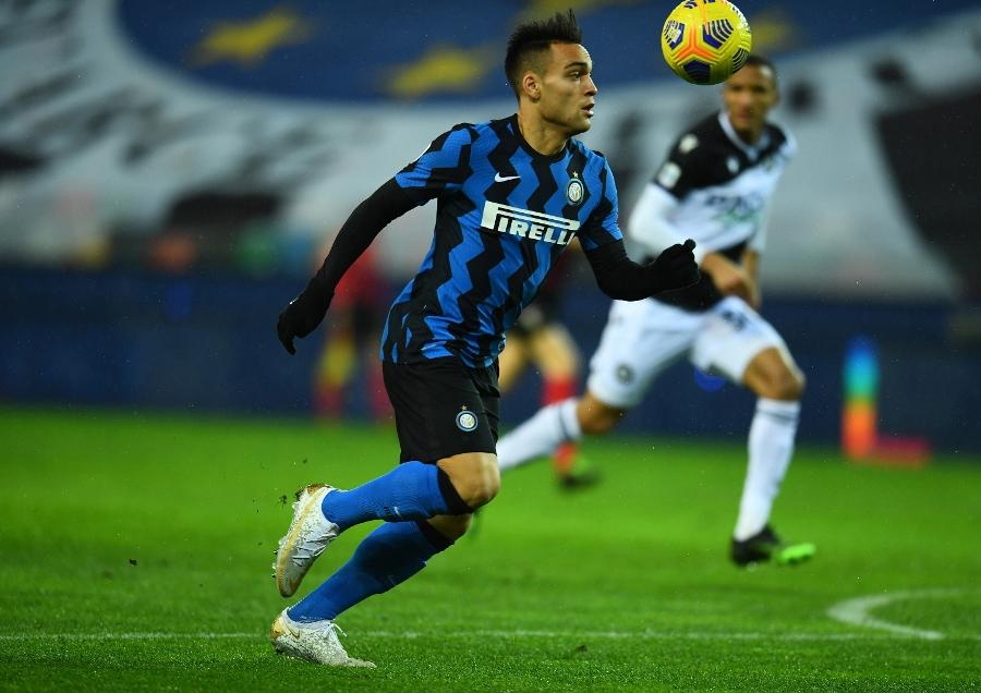 Martinez, yang mencetak sembilan gol di Serie A musim ini, melewatkan peluang terbaik Inter.  Foto: Langit.
