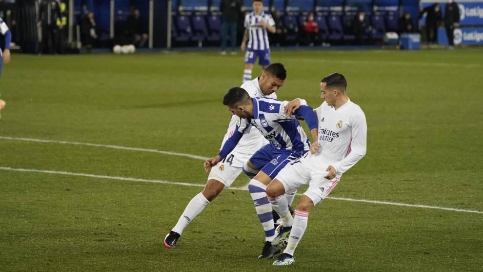 Real không để Alaves gây bất ngờ như những đối thủ trước.