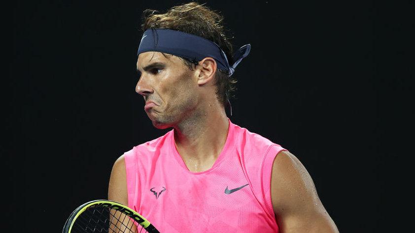 Nadal là hạt giống số hai của Australia Mở rộng 2021. Ảnh: ESPN.