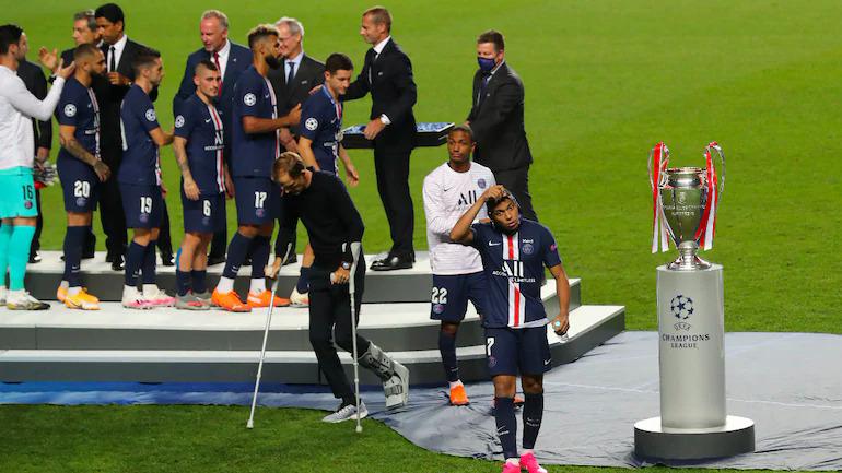 แม้จะแพ้บาเยิร์น แต่การนำ PSG เข้าสู่รอบชิงชนะเลิศแชมเปี้ยนส์ลีกเมื่อฤดูกาลที่แล้วยังคงเป็นจุดสูงสุดในอาชีพการงานของทูเชลซึ่งช่วยให้พรสวรรค์ของเขาเป็นที่รู้จักอย่างกว้างขวาง  ภาพ: Reuters