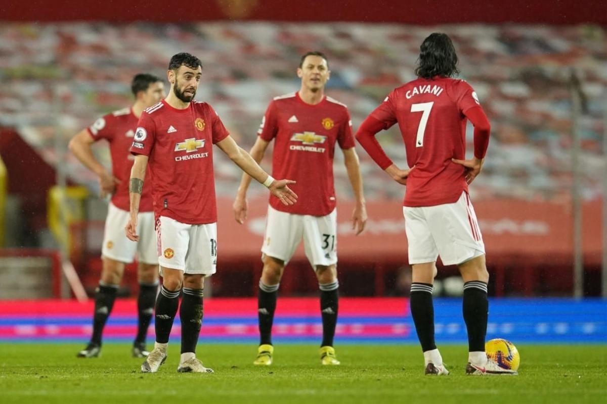 Man Utd thua trận thứ tư từ đầu mùa Ngoại hạng Anh. Ảnh: Goal.